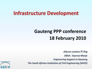 Infrastructure Development