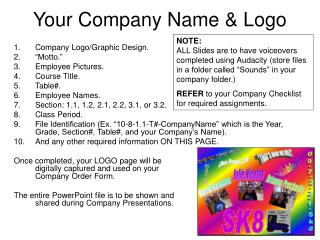 Your Company Name & Logo