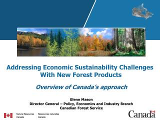 Addressing Economic Sustainability Challenges   With New Forest Products