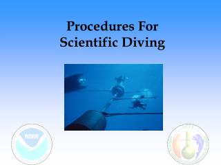 Procedures For Scientific Diving