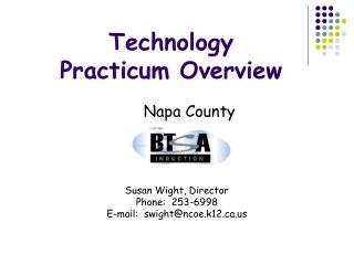 Technology Practicum Overview