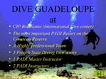 DIVE GUADELOUPE at