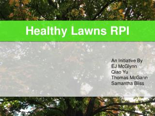 Healthy Lawns RPI