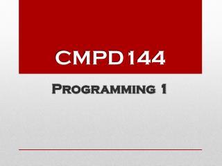 CMPD144