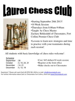 Laurel Chess Club