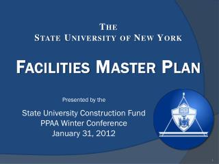 The  State University of New York Facilities Master Plan