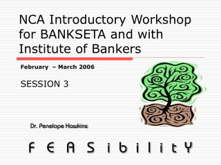NCA Introductory Workshop for BANKSETA and with Institute of Bankers