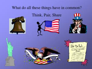 What do all these things have in common? Think, Pair, Share
