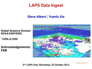 LAPS Data Ingest