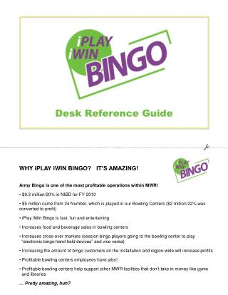 Desk Reference Guide