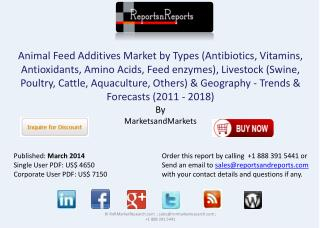 Animal Feed Additives Industry - Global Trend & Forecast to