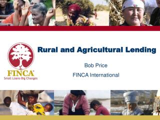 Rural and Agricultural Lending