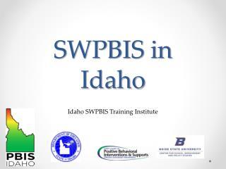 SWPBIS in Idaho