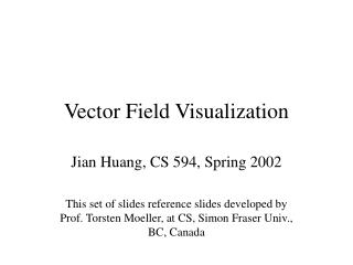 Vector Field Visualization
