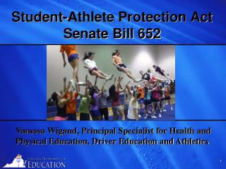 Student-Athlete Protection Act Senate Bill 652