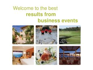 Welcome to the best results from  business events