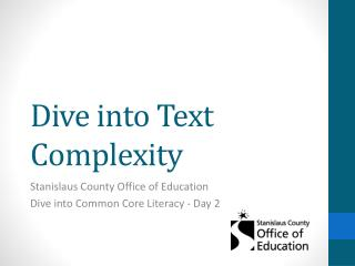 Dive into Text Complexity