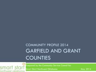 Community profile 2014 Garfield and grant counties