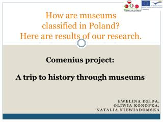 How are museums classified in Poland? Here are results  of  our research .