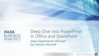 Deep Dive into PowerPivot in Office and SharePoint