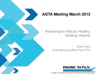 AGTA Meeting March 2012