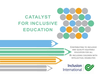 Contributing to inclusive and quality equitable education for all