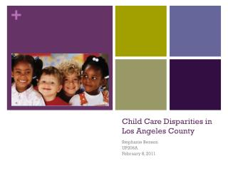 Child Care Disparities in Los Angeles County