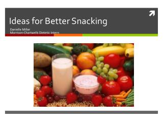 Ideas for Better Snacking