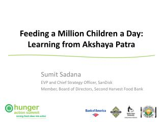 Feeding a Million Children a Day: Learning from Akshaya Patra