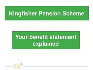 Kingfisher Pension Scheme