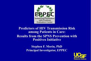 Predictors of HIV Transmission Risk among Patients in Care: