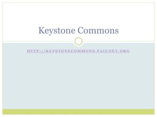 Keystone Commons