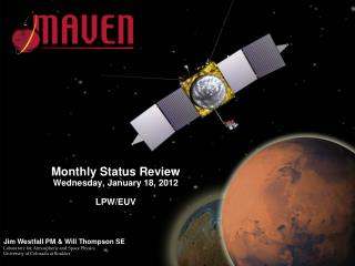 Monthly Status Review Wednesday, January 18, 2012 LPW/EUV