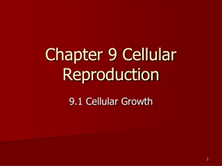 Chapter 11: Cancer:  Cell Division Out of Control