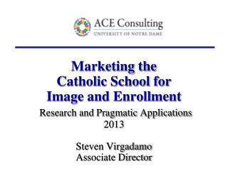 Catholic Schools: 2012-2013