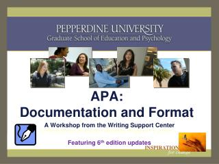 APA: Documentation and Format