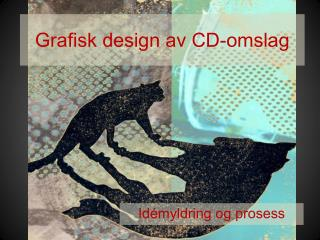 Grafisk design av CD-omslag
