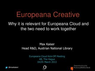 Europeana Creative