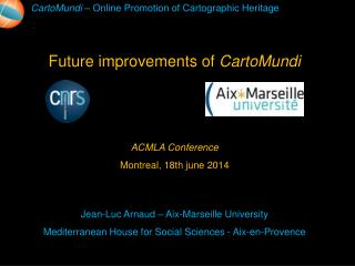 ACMLA  Conference Montreal , 18th  june  2014