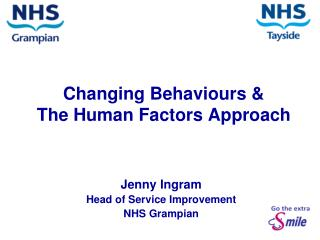Changing Behaviours &  The Human Factors Approach
