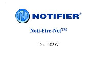 Noti-Fire-Net TM