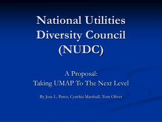 National Utilities Diversity Council (NUDC)