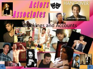 Bookings and Accounts