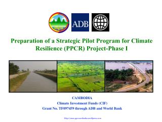 Preparation of a Strategic Pilot Program for Climate Resilience (PPCR) Project-Phase I