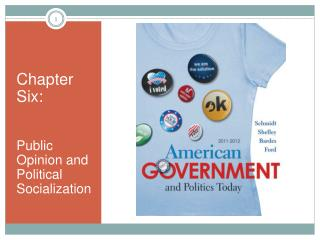 Chapter Six: Public Opinion and Political Socialization