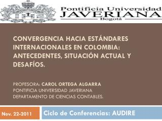 Ciclo de Conferencias: AUDIRE