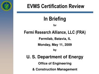 EVMS Certification Review