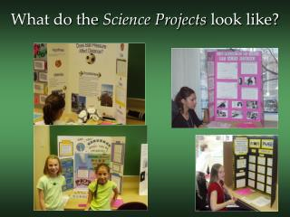 What do the Science Projects look like?