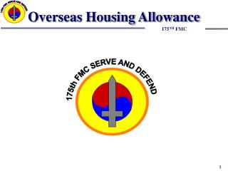 Overseas Housing Allowance