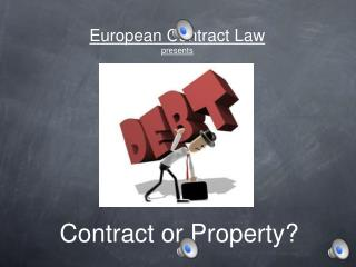 European Contract Law presents